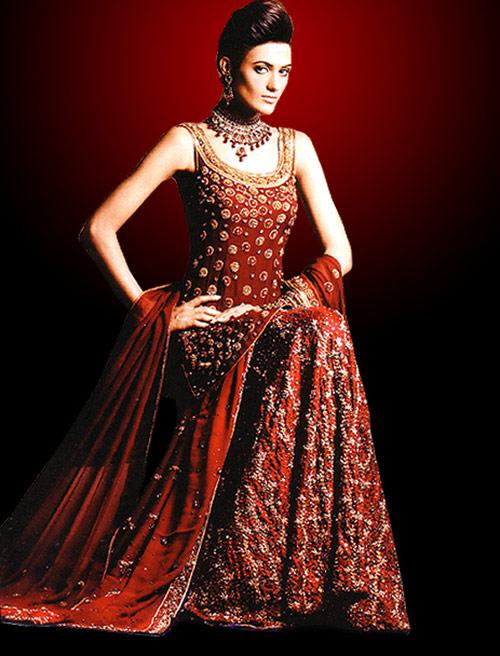 Indian Bridal Lehenga Wedding Ghagra